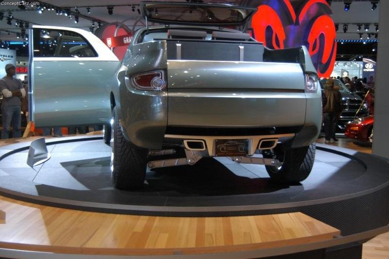 2004 Mitsubishi Sport Truck Concept Image Photo 49 Of 56