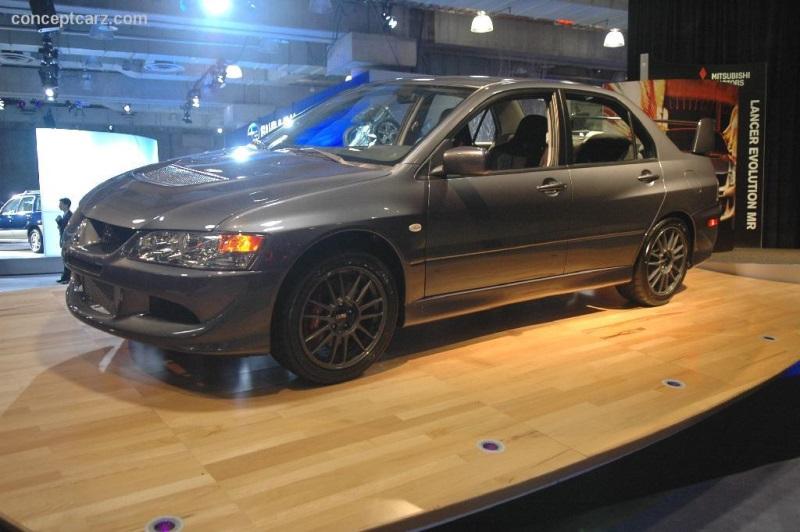 2005 Mitsubishi Lancer Evolution Viii Mr Fq 400 History Pictures