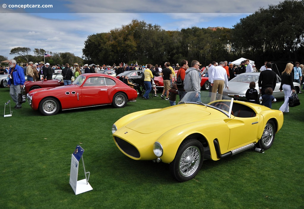 1953 Moretti 750 Grand Sport Image Chassis Number 1550