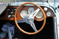 1961 Morgan 4/4.  Chassis number A595