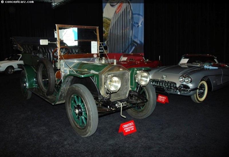1908 Napier Type 23A 45HP