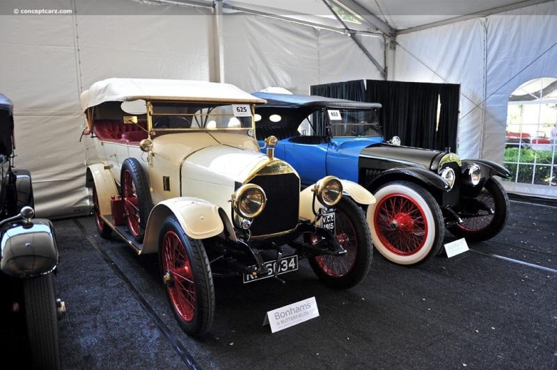 1915 Napier 16/22