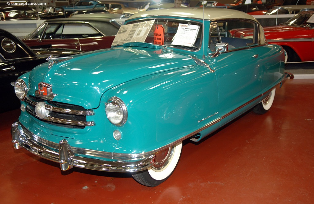 1952 Nash Rambler Pictures History Value Research News