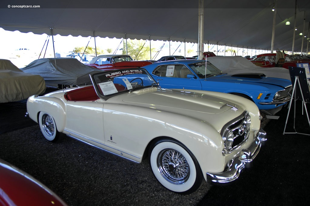 1953 Nash Healey Pininfarina At The Russo Amp Steele Scottsdale