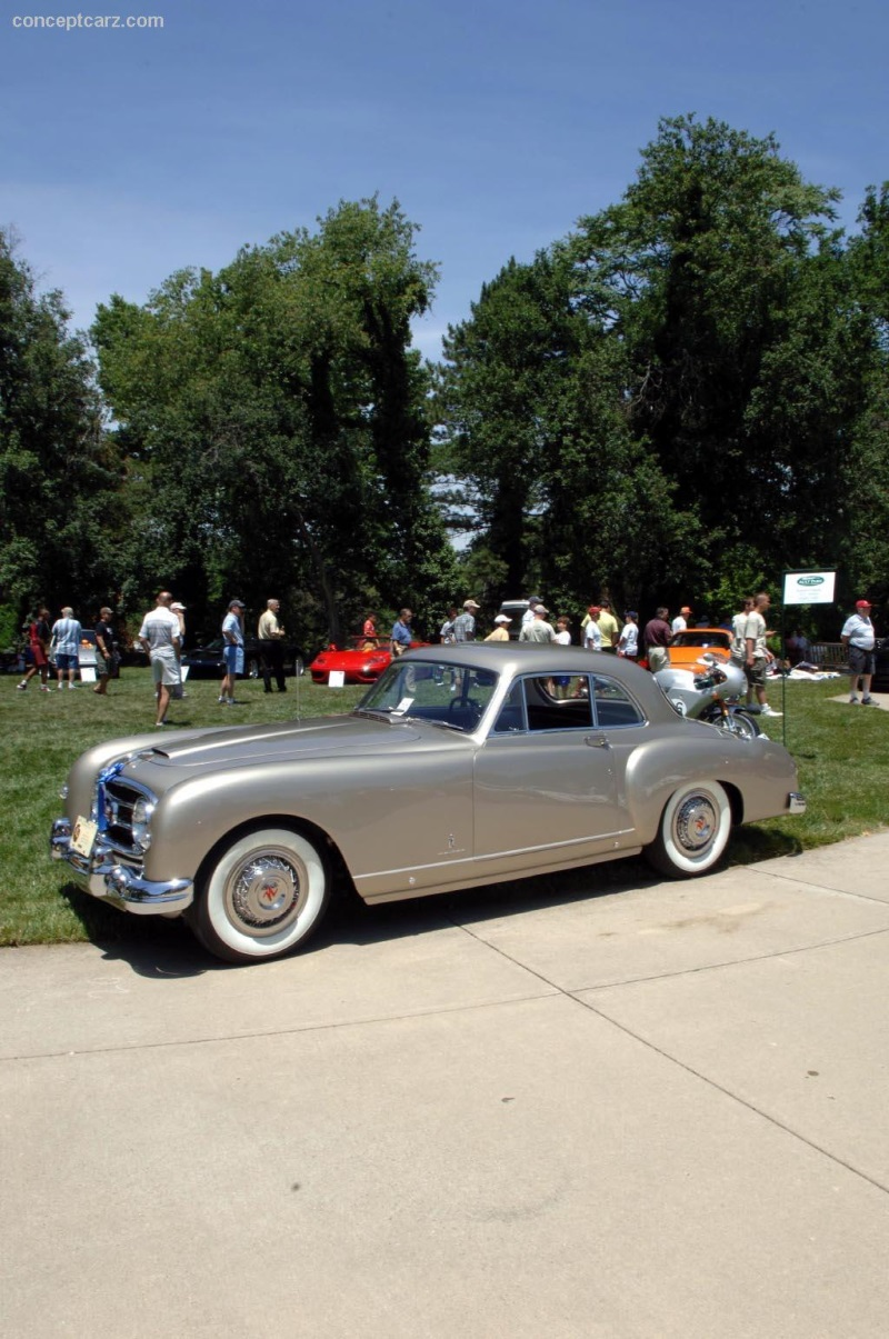 1953 Nash Healey Pininfarina