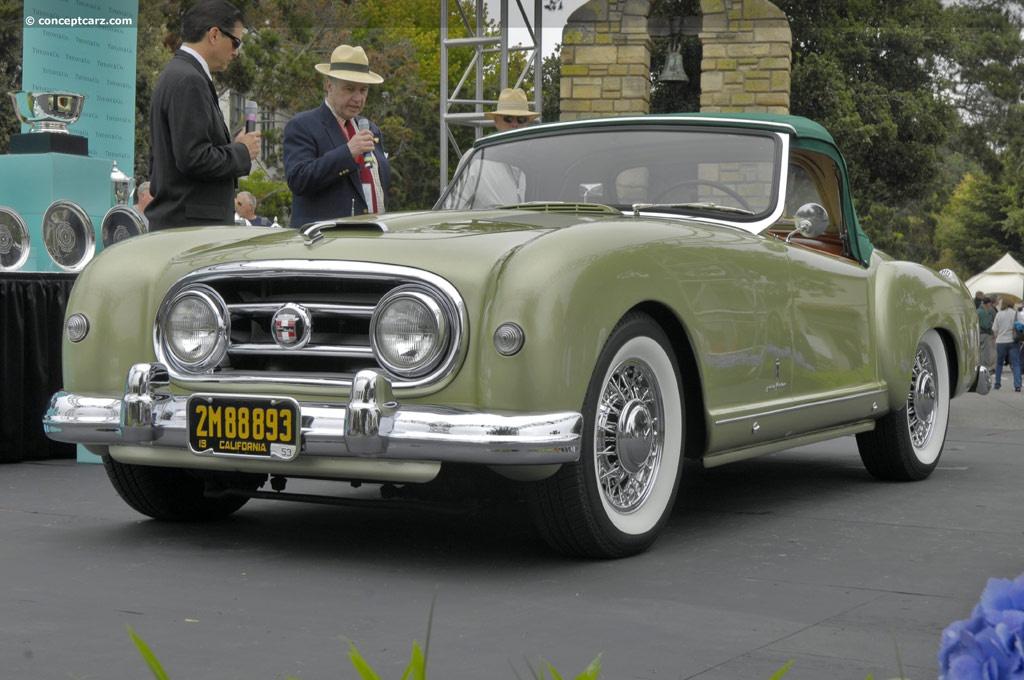 1953 Nash Healey Pininfarina Image Chassis Number 3142