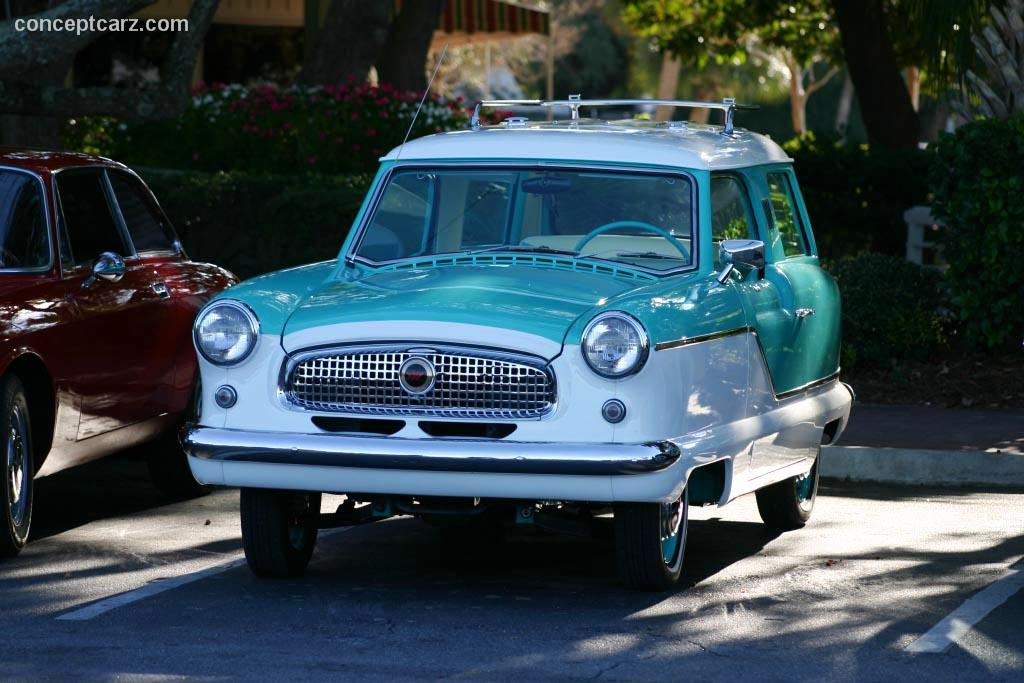 Auction Results And Data For 1957 Nash Metropolitan