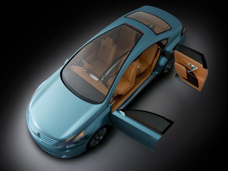 2007 Nissan Intima Concept Image Photo 20 Of 20