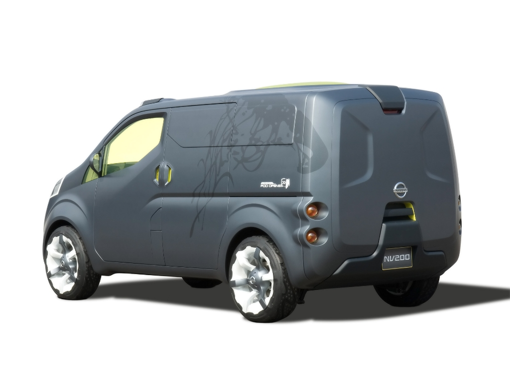 2008 nissan nv200 concept news and information research and history. Black Bedroom Furniture Sets. Home Design Ideas