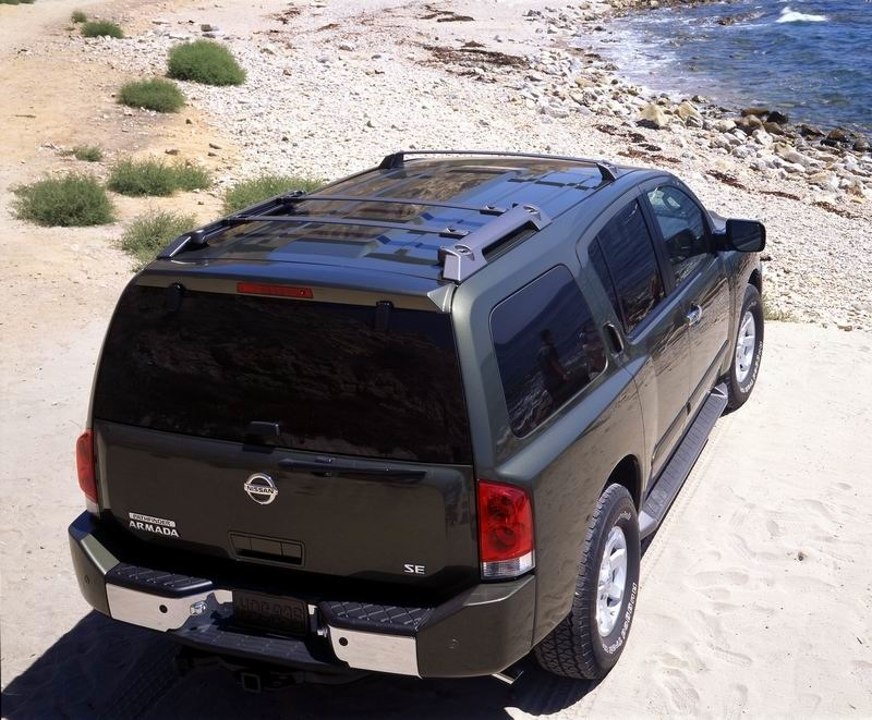 2004 Nissan Armada History Pictures Value Auction Sales Research