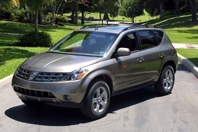 2005 nissan murano pictures history value research. Black Bedroom Furniture Sets. Home Design Ideas
