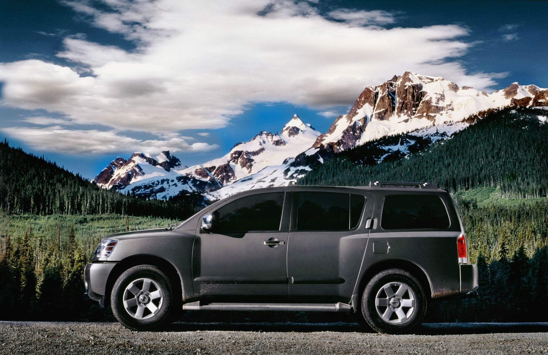 2007 Nissan Armada History, Pictures, Value, Auction Sales, Research And  News