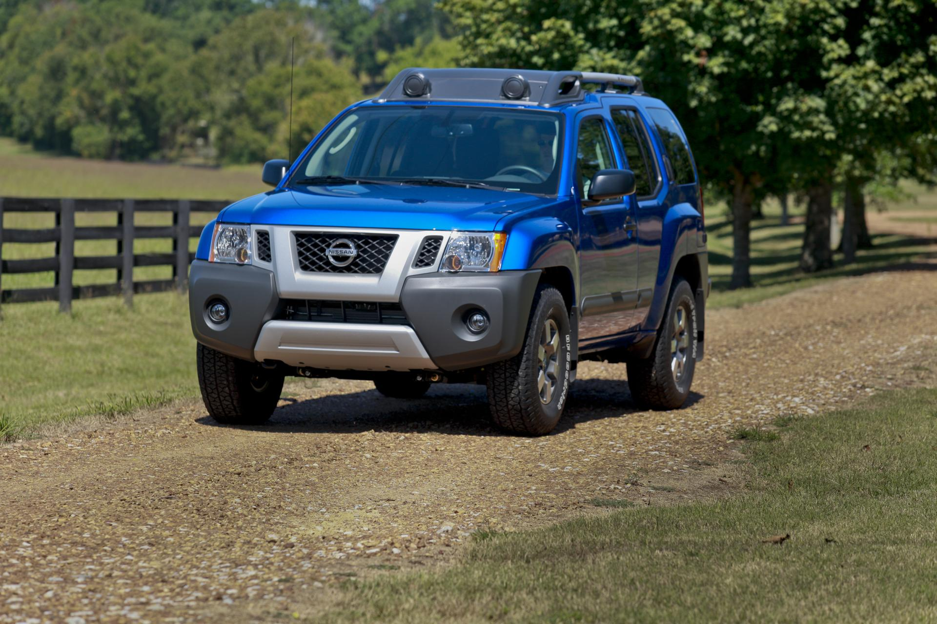 2012 Nissan Xterra Technical Specifications and data