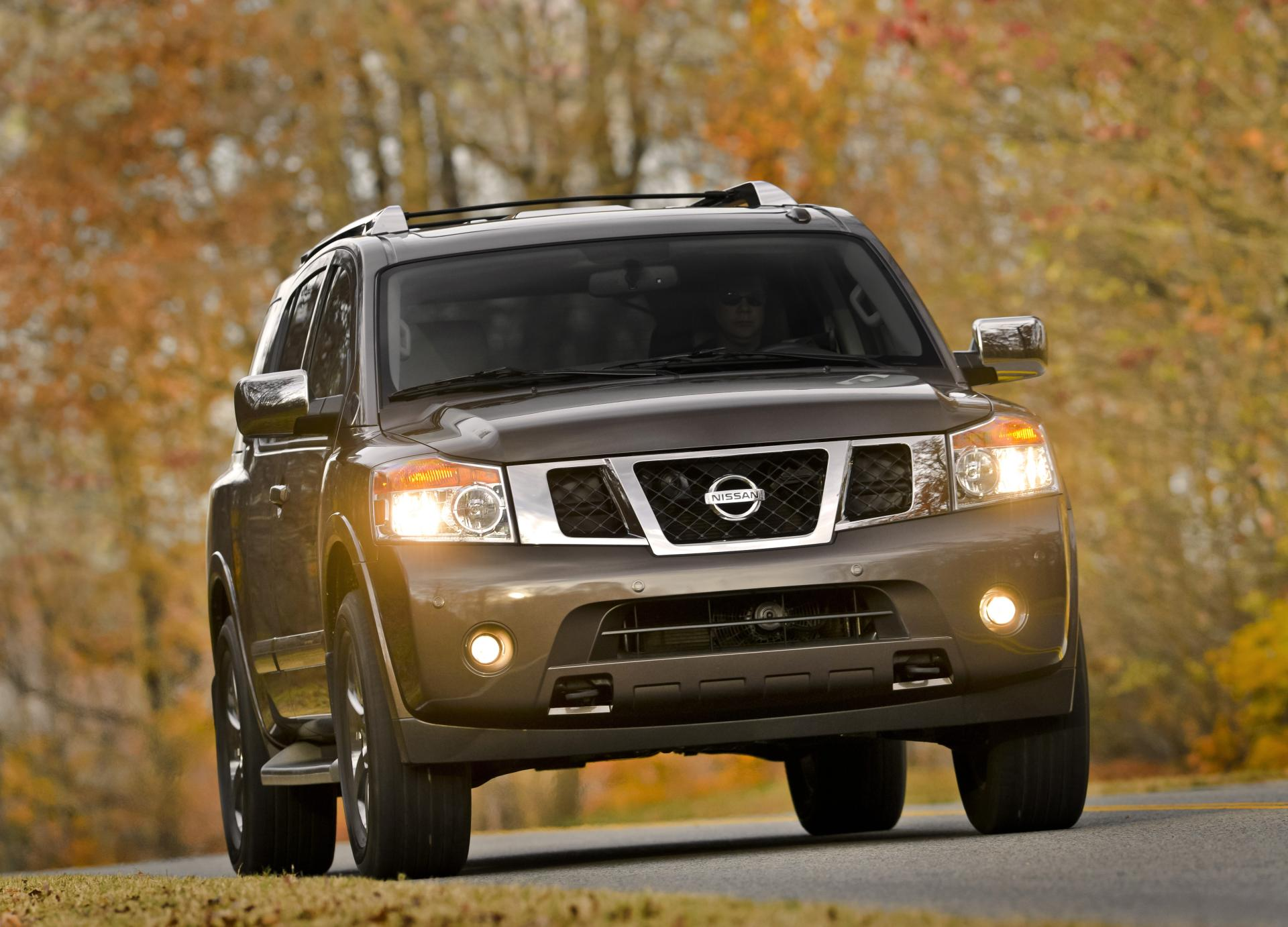 redesigned story refined auto armada rugged show unleashes suv chicago cars nissan money