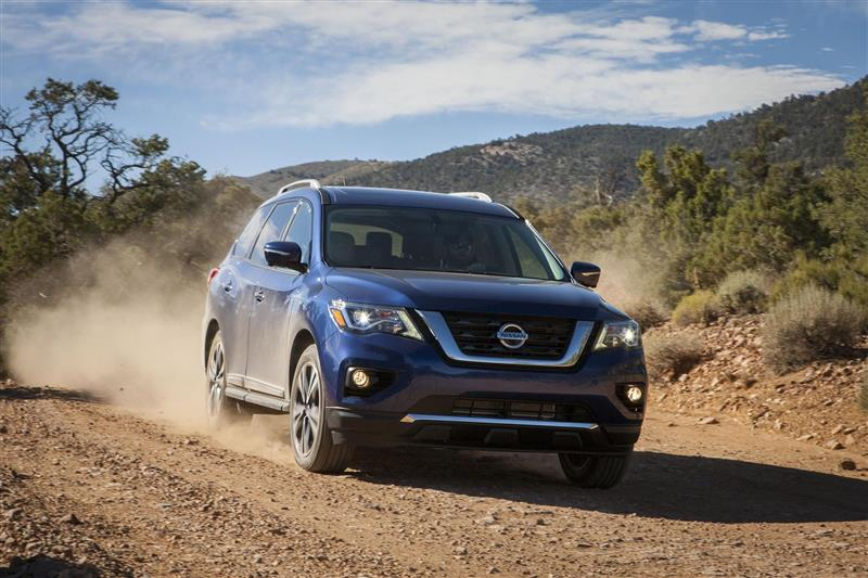 2017 Nissan Pathfinder News and Information