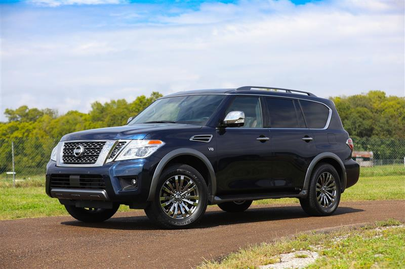 Nissan Armada Platinum Reserve pictures and wallpaper