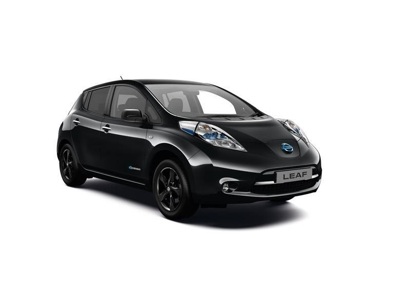 2016 Nissan Leaf Black Edition