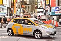 2013 Nissan Leaf Taxi image.