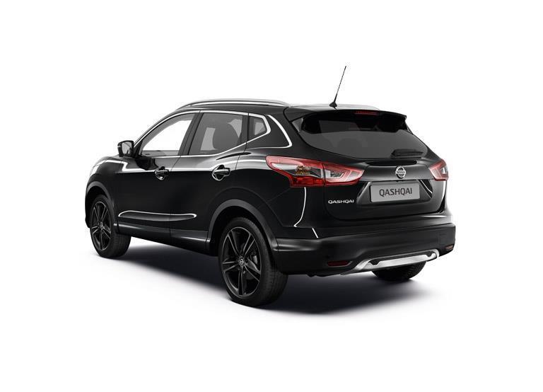 2016 Nissan Qashqai Black Edition SV