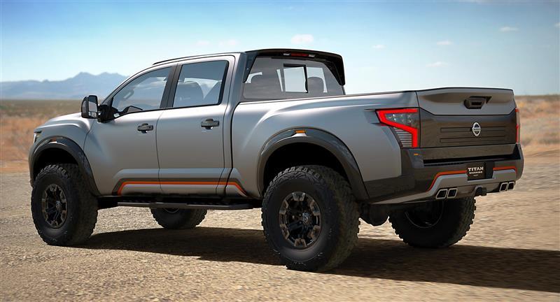 2016 Nissan Titan Warrior Concept Image Photo 40 Of 90