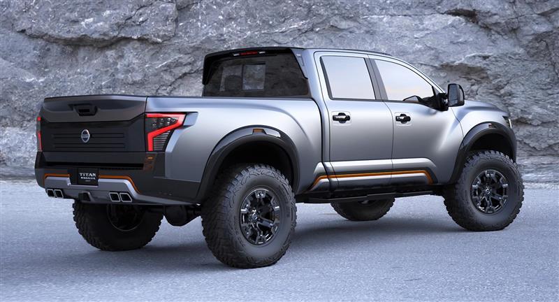 2016 Nissan Titan Warrior Concept Image Photo 35 Of 90