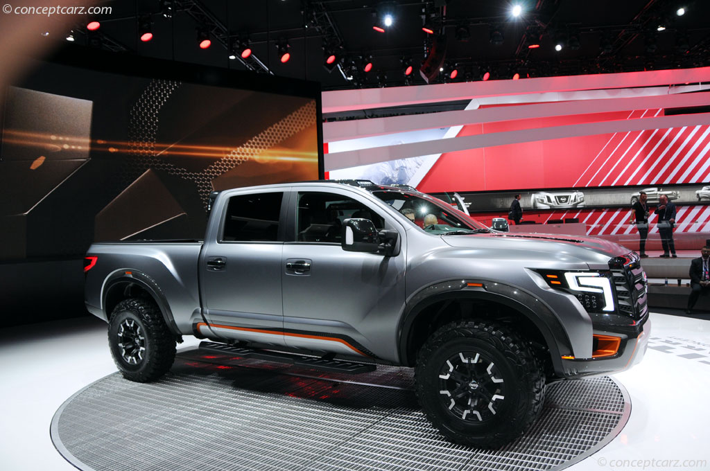 auction results and sales data for 2016 nissan titan warrior concept. Black Bedroom Furniture Sets. Home Design Ideas