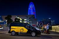 Nissan e-NV200 Electric Barcelona Taxi