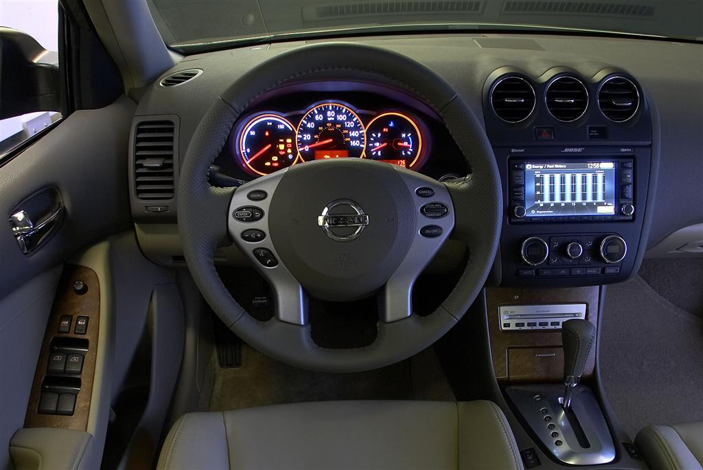 Awesome 2008 Nissan Altima Hybrid Pictures Gallery