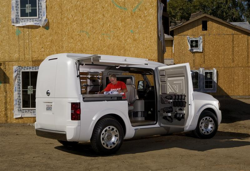 2010 Nissan Nv2500 Concept Image Photo 10 Of 18