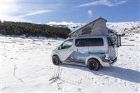 Popular 2021 Nissan e-NV200 Winter Camper concept Wallpaper