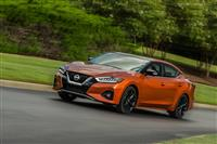 Nissan Maxima Monthly Vehicle Sales