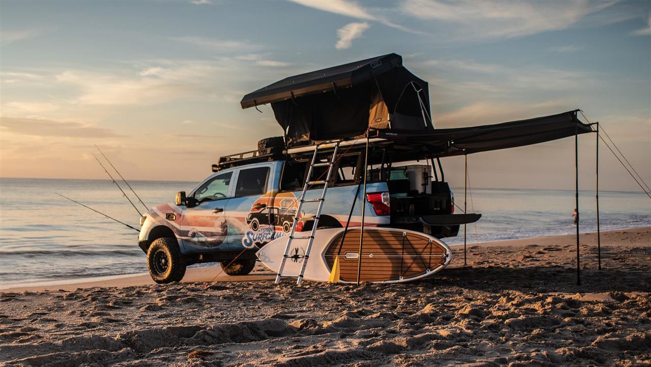 2018 Nissan Titan XD Surfcamp