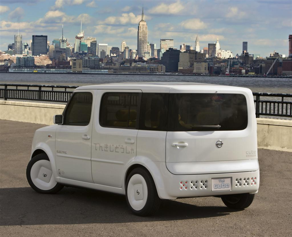 2008 Nissan Denki Cube Concept Image Photo 45 Of 47