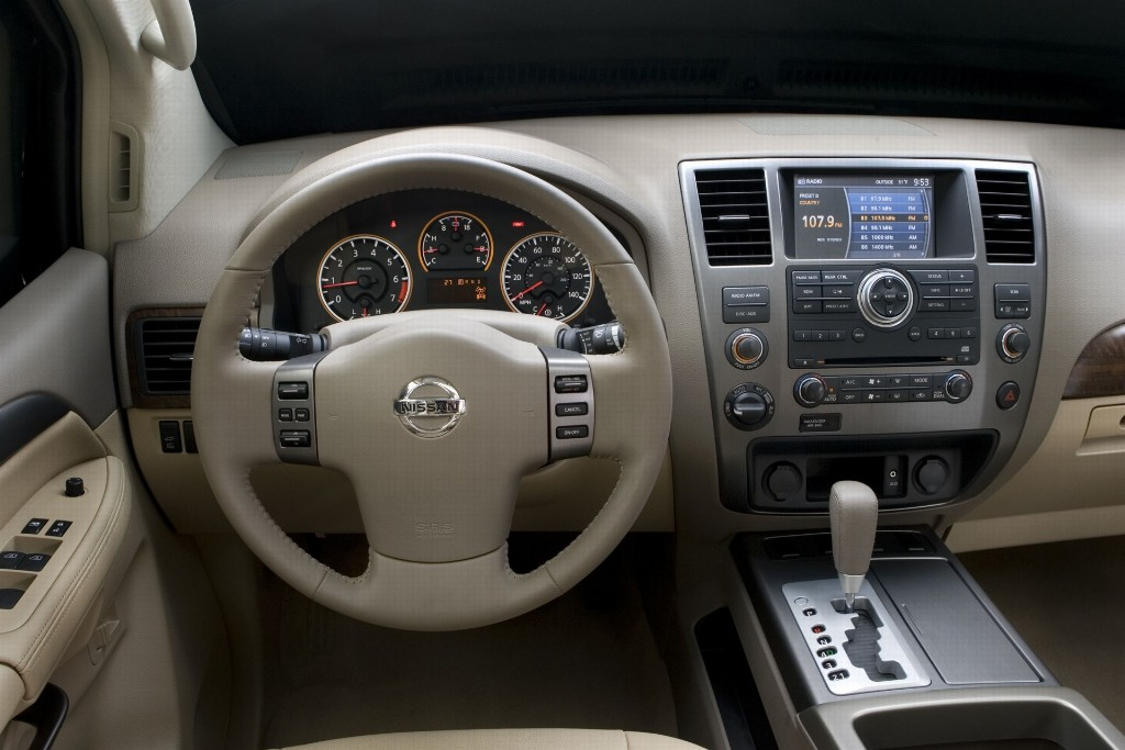 2008 nissan armada news and information. Black Bedroom Furniture Sets. Home Design Ideas