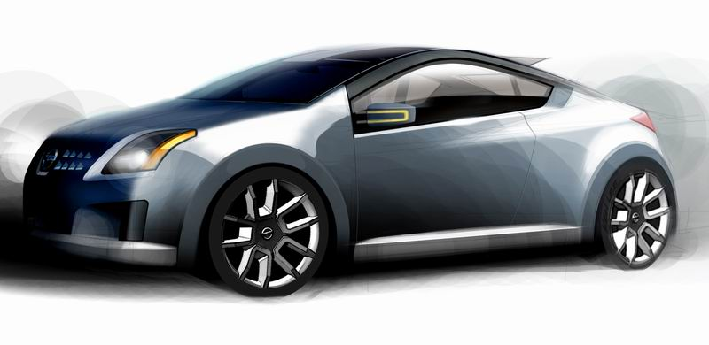 2005 Nissan Azeal Coupe Concept History Pictures Value Auction