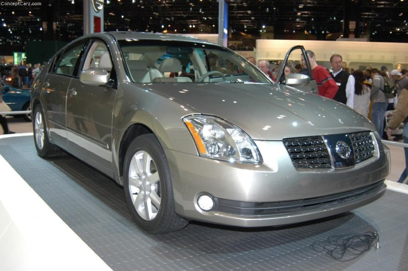 2004 Nissan Maxima History Pictures Value Auction Sales Research