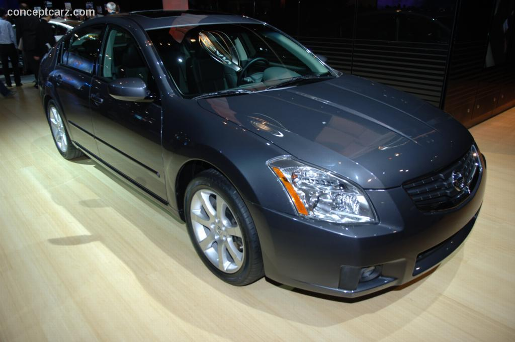 2007 Nissan Maxima History Pictures Value Auction Sales