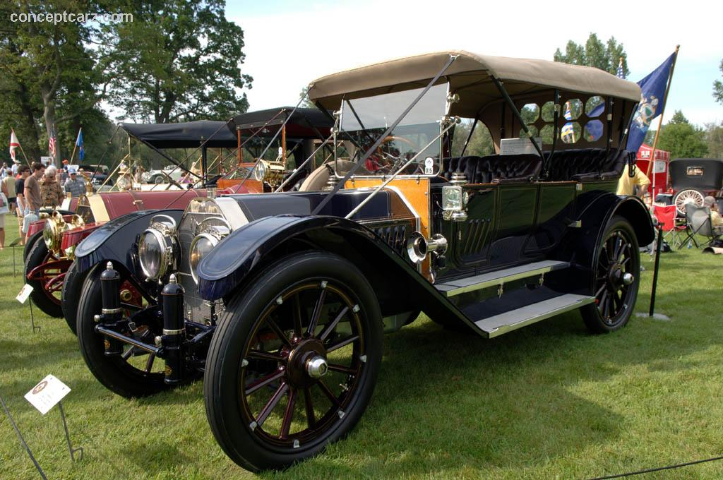 1912 oldsmobile limited touring image  chassis number 64626