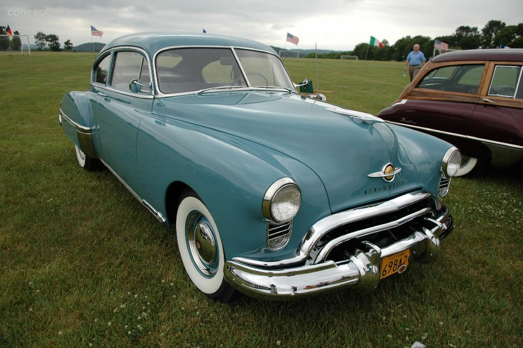 1949 Oldsmobile Rocket 88 at the Concours d'Elegance of ...