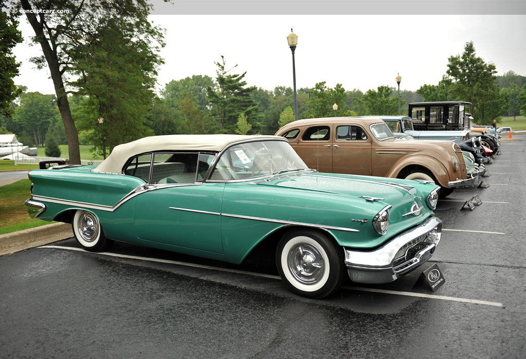1957 Oldsmobile Super 88 Image Chassis Number 578c09900