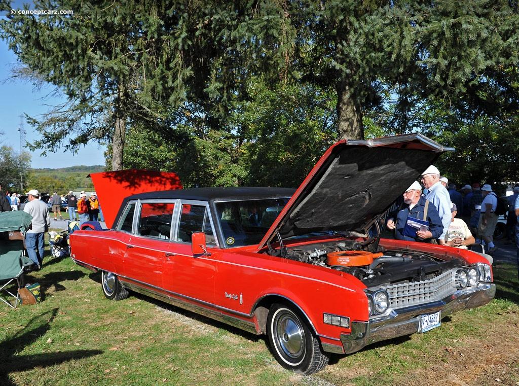 1966 Olds Cutlass 442 NEW Cast Chrome Fender Louver Set  Oldsmobile 66