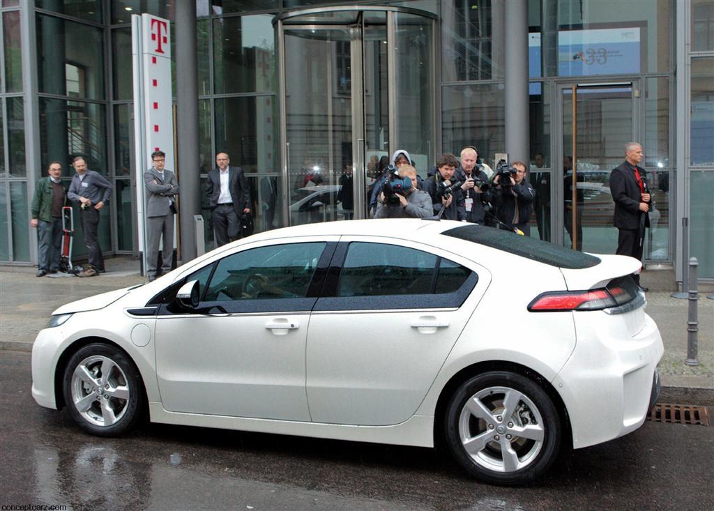 2012 Opel Ampera Image Photo 39 Of 50