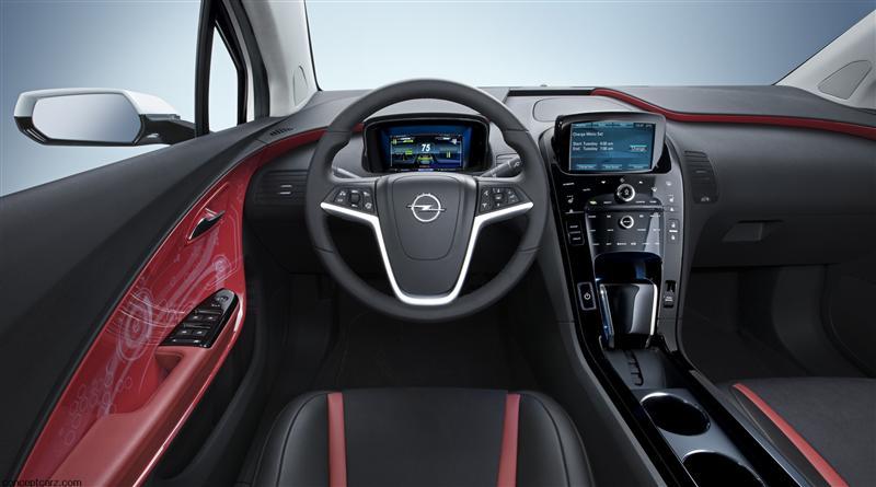 2012 Opel Ampera Image Photo 3 Of 50