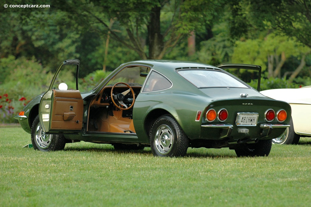 1969 Opel Gt Pictures History Value Research News