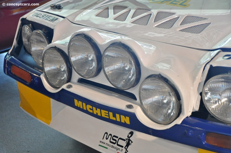 Chassis 068030 1984 Opel Manta 400 Group B Rally Car chassis information