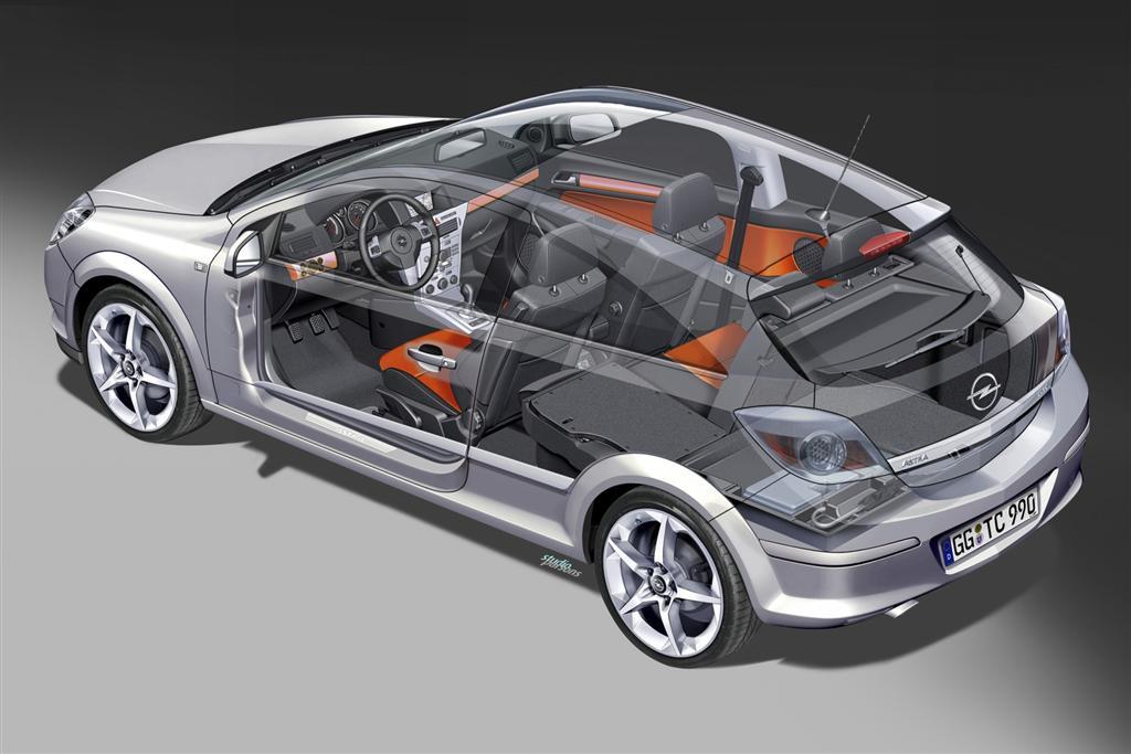 2009 Opel Astra Gtc News And Information Conceptcarz Com