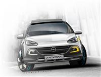 Popular 2013 Opel Adam Rocks Concept Wallpaper