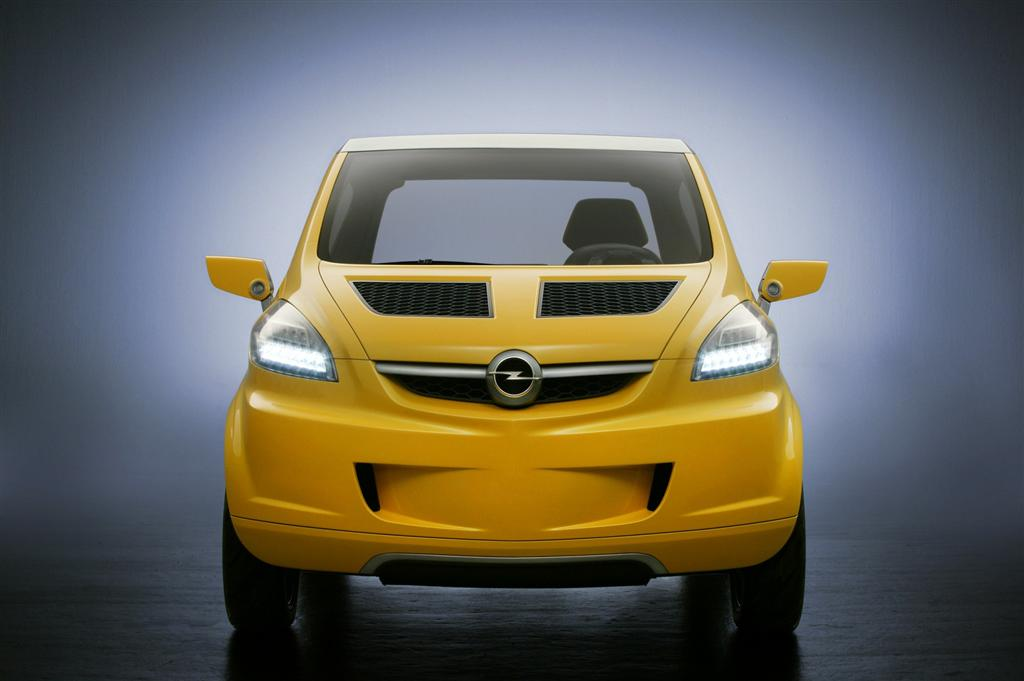2004 Opel TRIXX Concept Pictures History Value Research