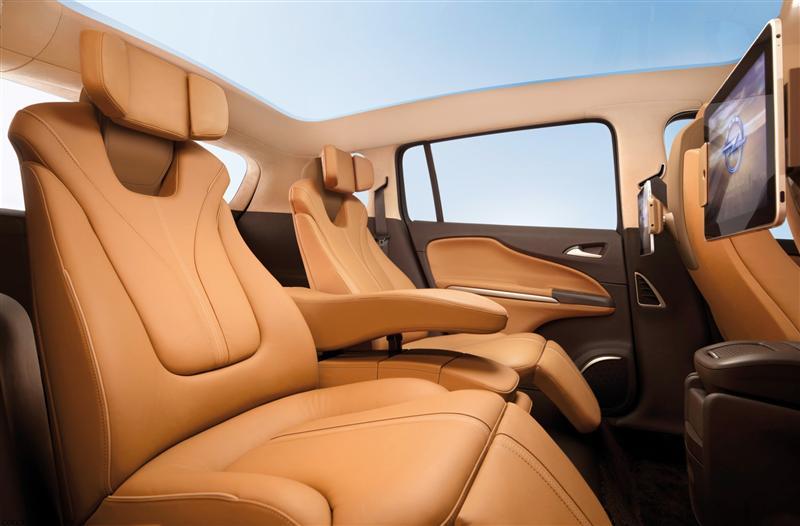 2011 Opel Zafira Tourer Concept Image Photo 6 Of 27