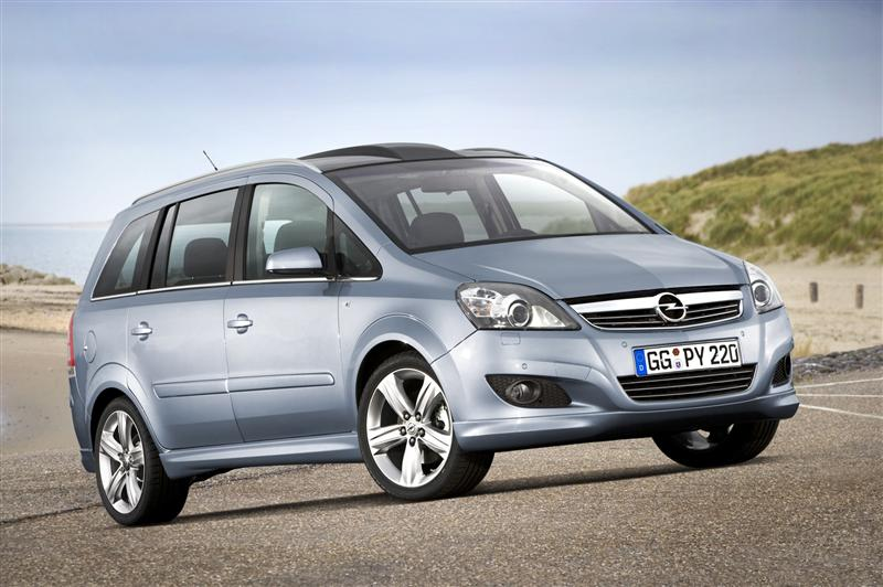 2009 Opel Zafira News And Information Conceptcarz